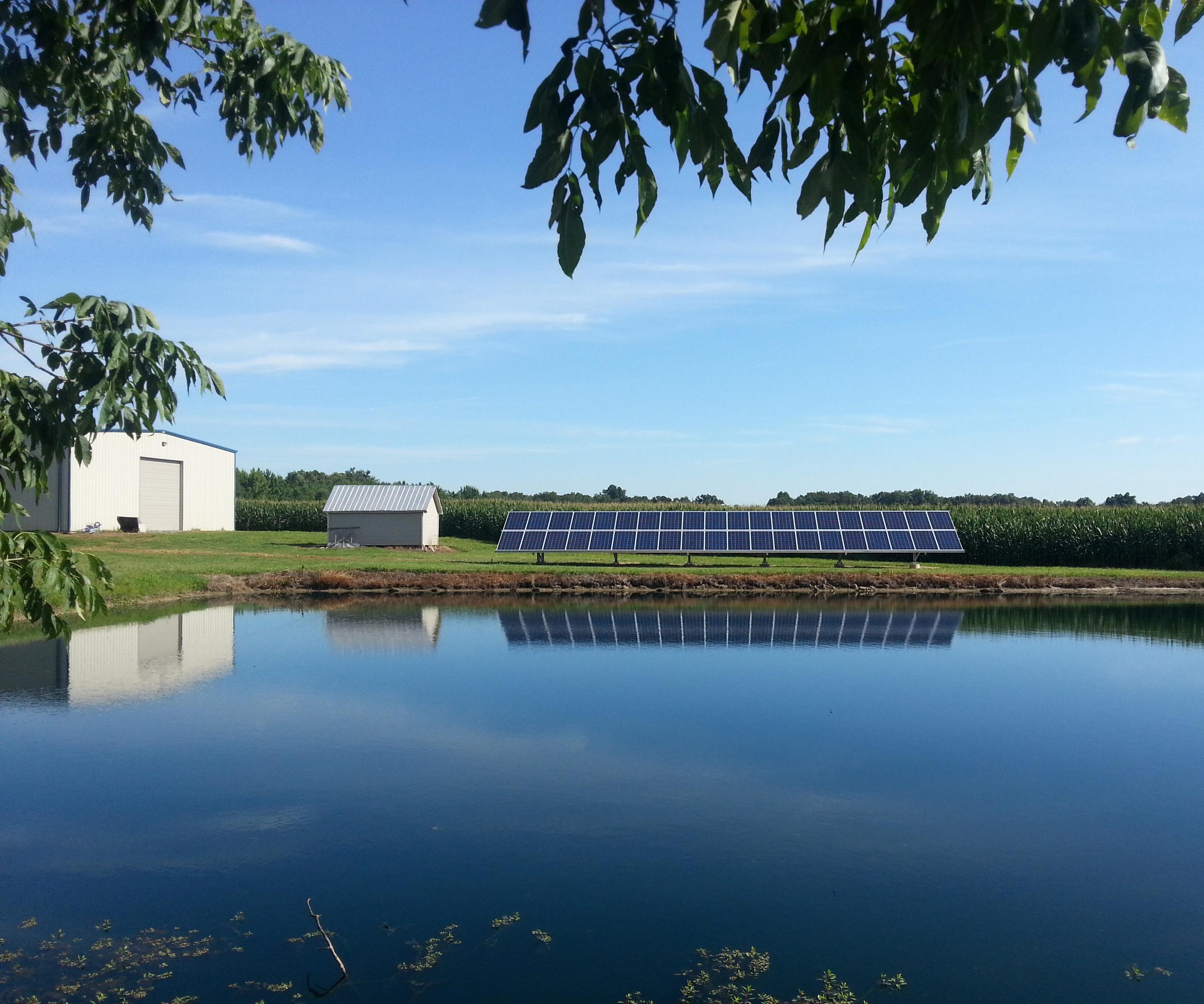 Brannon-solar at lake-2014